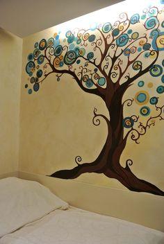 magic tree, paint, neat tree