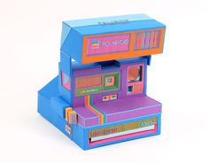 Back to Basics: Retro Electronics Made of Paper by Zim and Zou