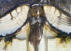 Angel Watching. Bonaventure Cemetery, Savannah, Georgia. Photo by Kim Manley Ort/Flickr.