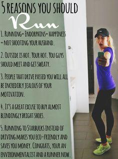 reasons to run