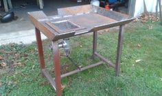 Miller - Welding Projects - Idea Gallery - Blacksmith coal forge