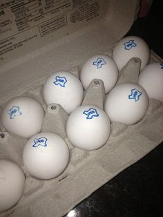 At H.E.B., even the eggs have Texas pride. | 38 Reasons Why H.E.B. Is The Best Dang Grocery Store In The World