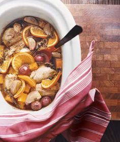 6 no-fuss slow cooker meals from Real Simple