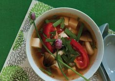 Tomato and Tofu Soup | Vegetarian Times