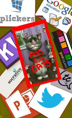 TOUCH this image: APPS FOR CATS by heather
