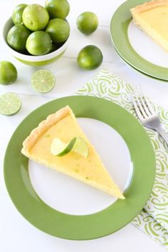 Key Lime Tart via @Maria (Two Peas and Their Pod)