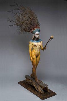 George Lafayette – Spirit guide / Figuratives sculptures