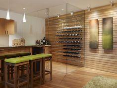 Clean e moderna!    modern wine cellar by Fulcrum Structural Engineering