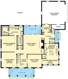 Great l shape floor plan with covered patio in back. Exactly what we want for the mail floor. The exterior is awesome too.