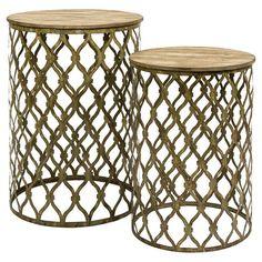 2 Piece Maridell Nesting Table Set at Joss & Main