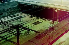A Vibrant Train by Rachael Lester