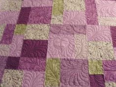 check out the quilting on this thing!