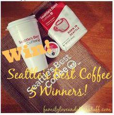 Seattle's Best Coffee Giveaway {5 Winners} #GreatTaste