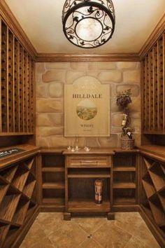Wine room...Love