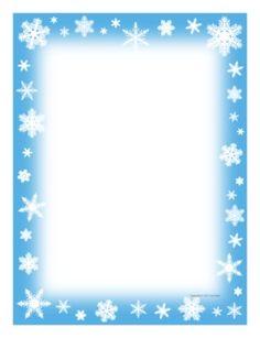 Frozen Border Clipart