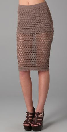 Opening Ceremony crocheted skirt ( needs something under it though.....)