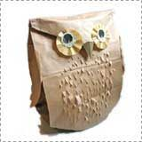 paper bag owl craft Animal Crafts for Fall: Owl Crafts  - Pinned by @PediaStaff – Please Visit  ht.ly/63sNt for all our pediatric therapy pins