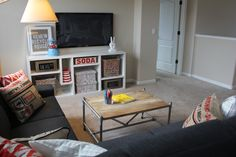 kids loft - play area - TV room
