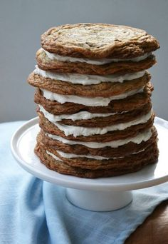 Chocolate Chip Cookie Stack Cake