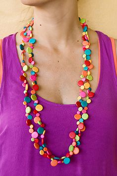 Ruby Olive Jewellery and Accessories | La Rambla Long Smartie Necklace