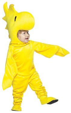 Toddler's Peanuts Woodstock Costumes