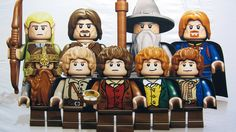 Lord of the Rings invades Lego!