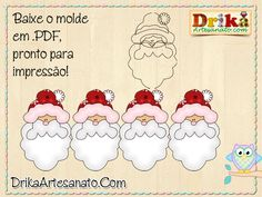 Artesanato de Natal: moldes incrivelmente lindos. Confira!