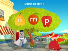 Best apps for preschoolers to teach reading and writing: Learn with Homer app