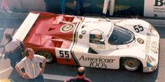 Fitzpatrick Porsche Team GB  Porsche 962 C 1985