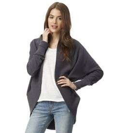 Solid Cocoon Cardigan Size: S/M $32 Color: Storm