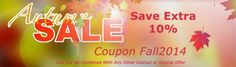 Allergy Store's Autumn Sale. Save Extra 10%. Free shipping on Orders over $99