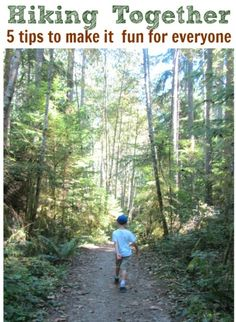 Tips for family hiking