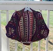 Ravelry: Firecracker Shrug - Easy SWeater pattern by Sara Sach