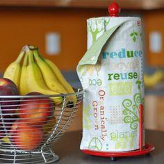 Snap Together Reusable Paper Towel Set