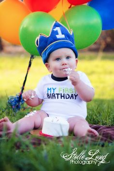 1st Birthday picture idea:)