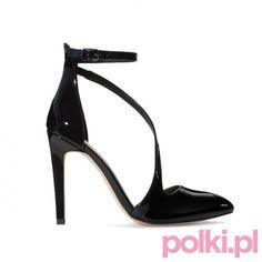 Buty zapinane na kostce, Zara #polkipl