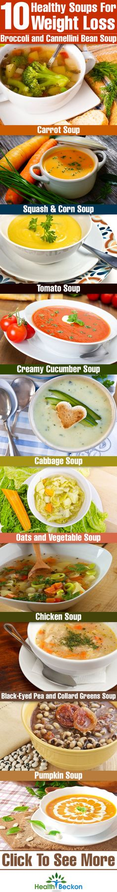 Top 10 Healthy Soups For Weight Loss #nutribulletrx