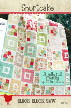 Quilt to make for Morgan's baptism.  This may be a little too difficult. :)