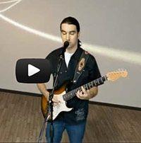 Dream On(Aerosmith), vidéoclip guitare et voix,  interprété par JacquesDurocher