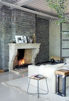 living rooms, home interiors, fireplaces, fireplace mantels, hous