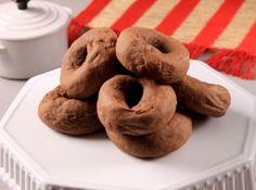 Rosquinhas de Creme de Leite com Chocolate