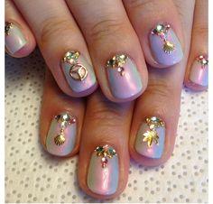 Iridescent #nails #nailart