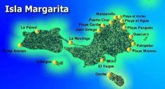 Playas Isla Margarita, Venezuela, Playas Mas Lindas