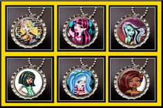 Monster High necklaces - Cute for party favors