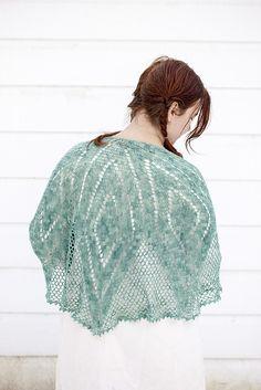 Ravelry: Borealis Shawl pattern by Cal Patch #crochet #shawl #pattern #lace