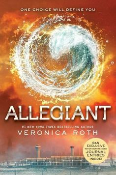 Allegiant, Book 2 of the Divergent Series by Veronica Roth #books #movies #yalit