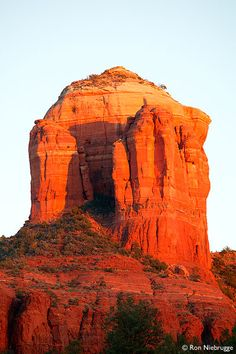 Cathedral Rock, Sedona, Arizona. I love Sedona, every year my family and try to visit when the leaves begin to change. The trees are beautiful then. (Even though you can't see any trees in this pic)