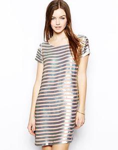 sequins + stripes