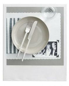 Picture Perfect Party: Personalized Place Mats