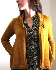 (for me) Larch Cardigan by Amy Christoffers